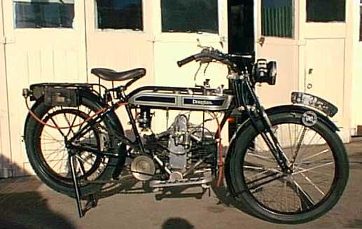1922 Douglas motorcycle