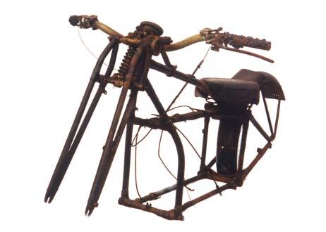 Douglas motorcycle frame serial HF 790